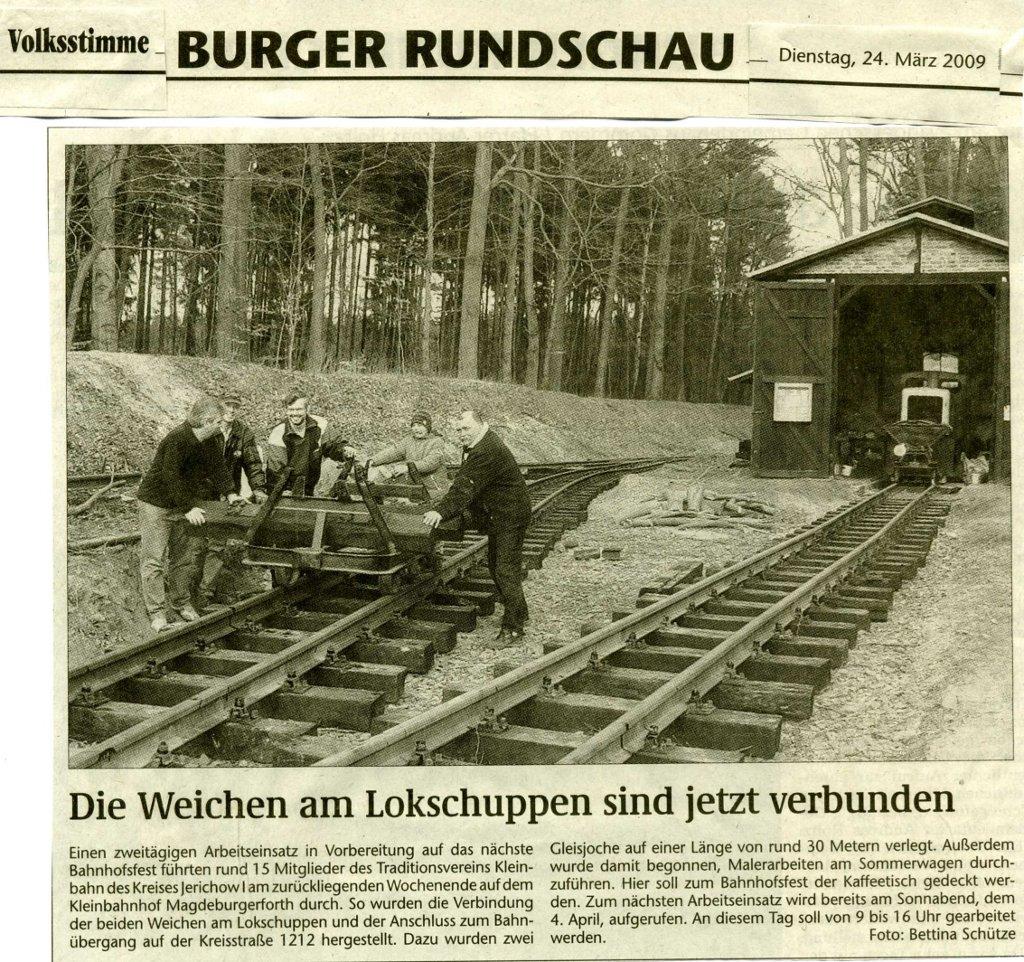 (Volksstimme/Burg 24.03.2009)
