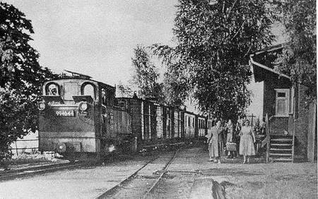 Bahnhof Leitzkau Foto: Sammlung Swoboda
