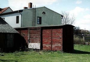 Wagenkasten des 97-60-30 in Jerichow