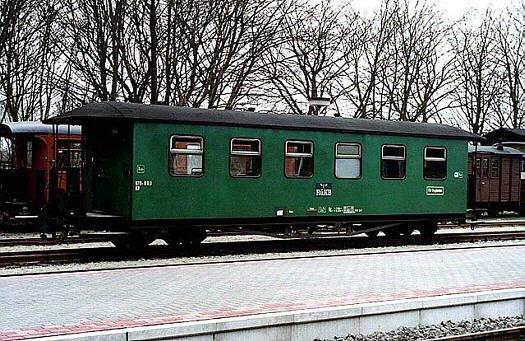 Wagen 970-803 als Rekowagen in Putbus