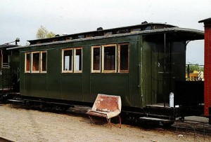 970-812 als Museumswagen bei der RüKB in Putbus