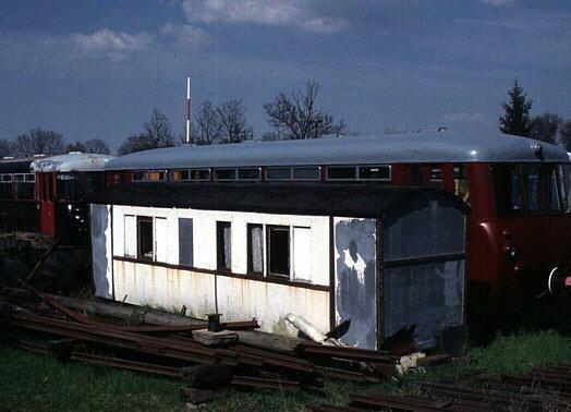 Wagenkasten des 971-302 in Gramzow