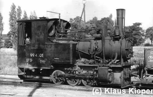 99 4301 um 1965 in Burg