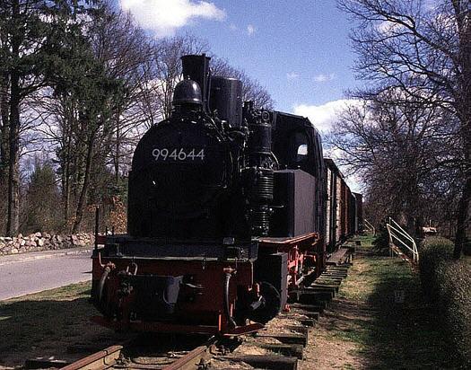 99 4644 im Schmalspurmuseum in Lindenberg