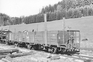 ÖBB Ol/s 72 605, Aufnahme vom 26.10.2000 in Pfaffenschlag (Ybbstalbahn-Bergstrecke) - Photo: Dr. Markus Strässle