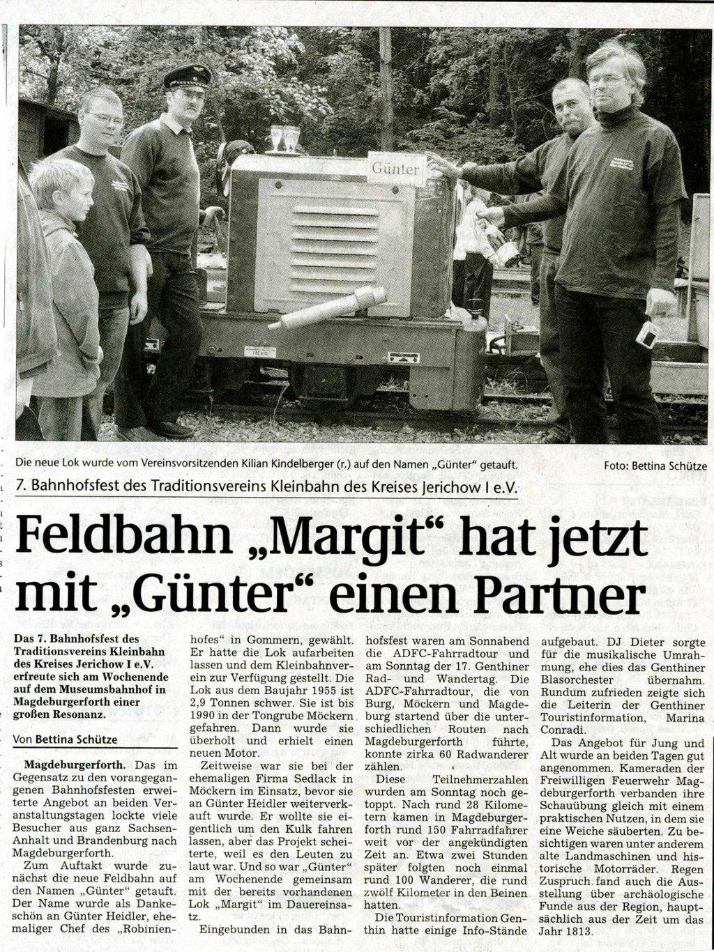 (Volksstimme/Burg 19.05.2009)