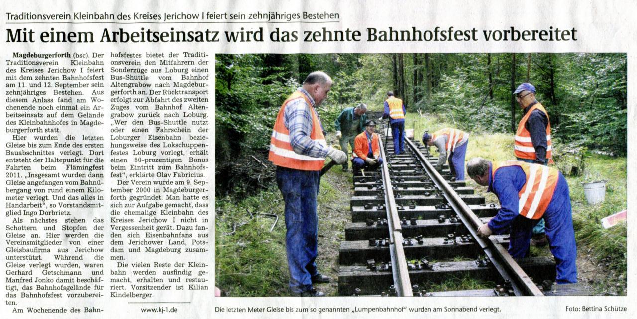 (Volksstimme/Burg 30.08.2010)