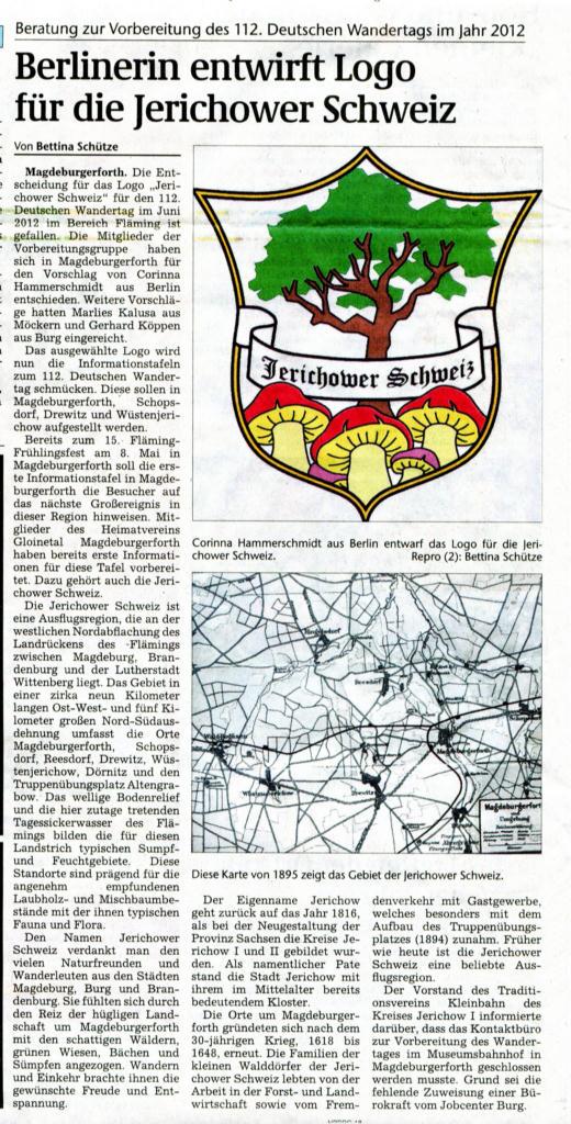 (Volksstimme/Burg 13.01.2011)