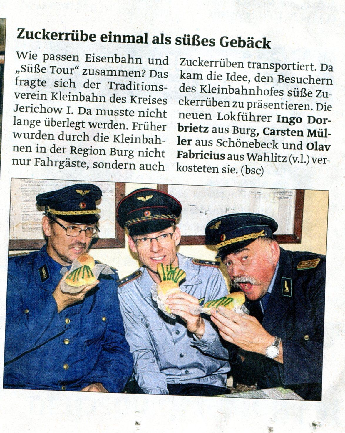 (Volksstimme/Burg 23.10.2012)